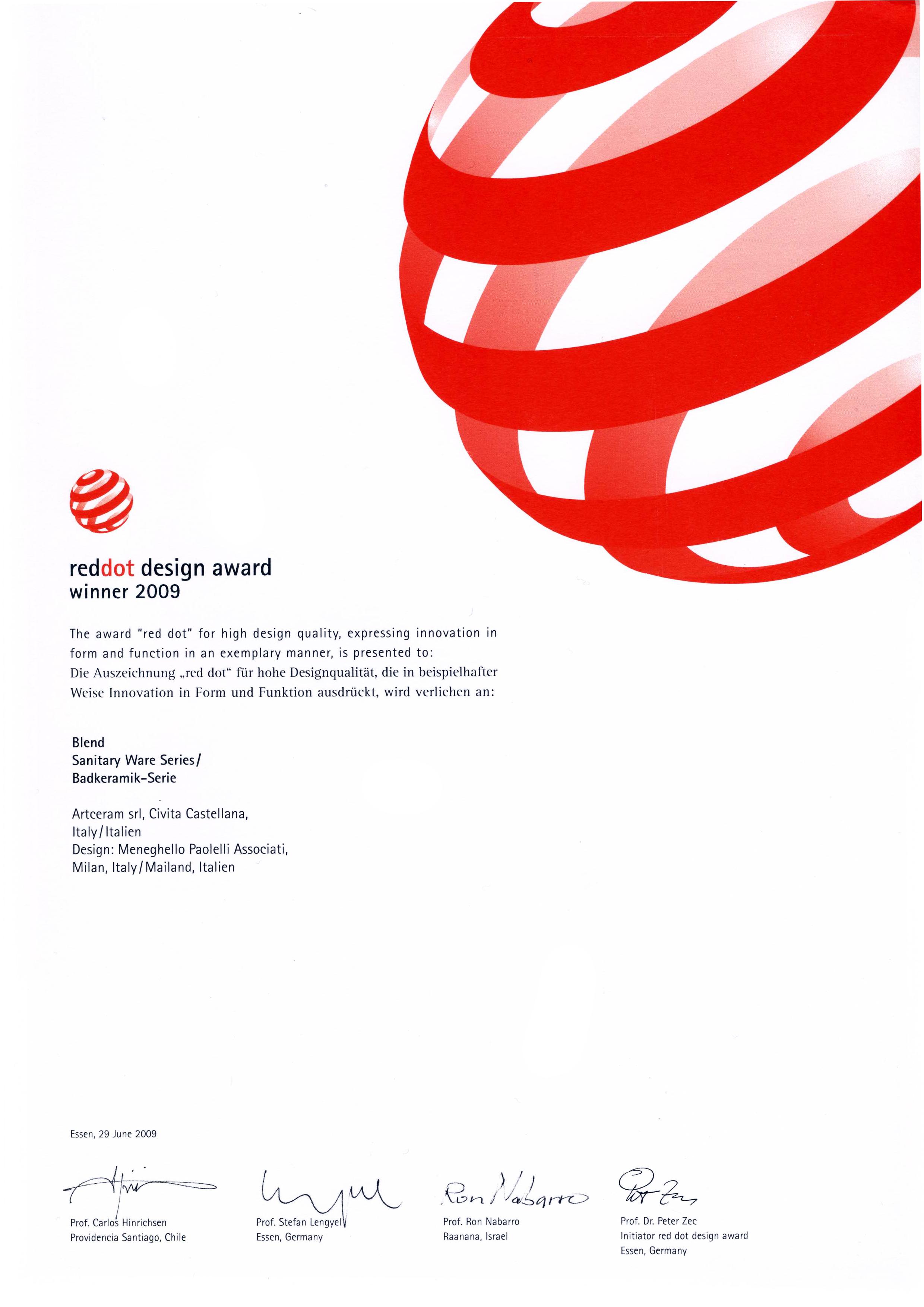 design an award